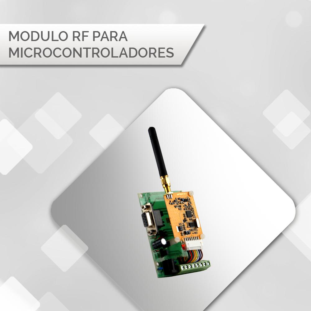 Módulos RF para Microcontroladores